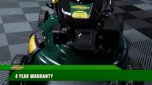 Yardworks 149 cc 21-in Side Discharge Mower - image 9 from the video