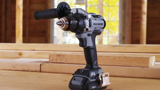 MAXIMUM 20V Brushless Drill Driver - image 10 from the video