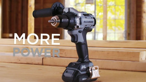 MAXIMUM 20V Brushless Drill Driver - image 2 from the video