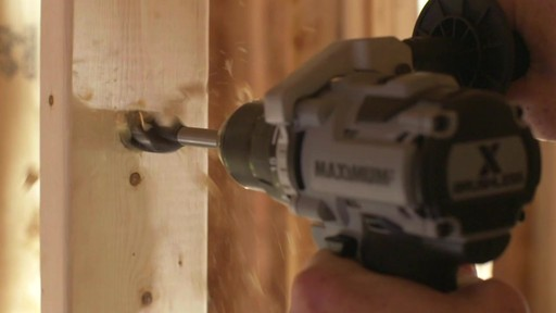 MAXIMUM 20V Brushless Drill Driver - image 5 from the video