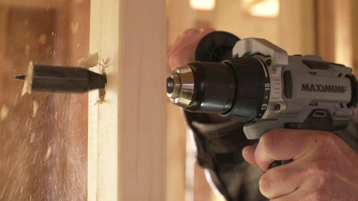 MAXIMUM 20V Brushless Drill Driver - image 9 from the video