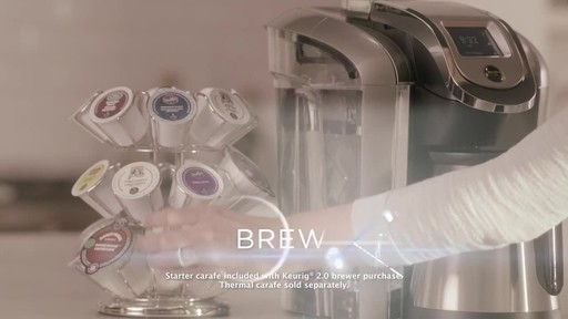 Introducing Keurig 2.0 K500 - image 2 from the video