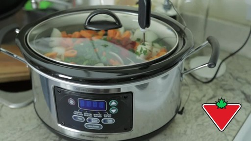Hamilton Beach Slow Cooker - Remo's Testimonial - image 9 from the video