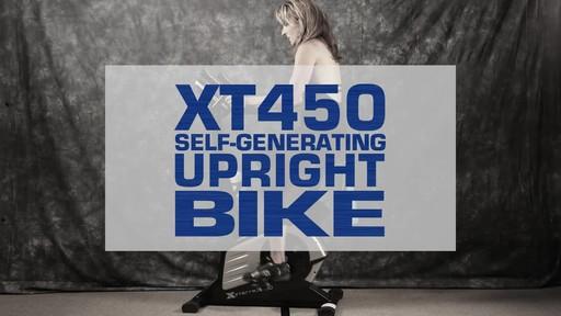 Xterra XT450SGU Self Generating Upright Bike - image 1 from the video