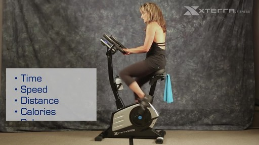 Xterra XT450SGU Self Generating Upright Bike - image 6 from the video