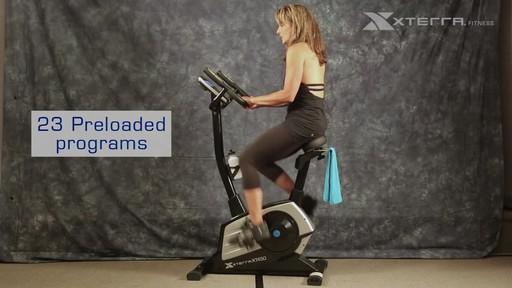 Xterra XT450SGU Self Generating Upright Bike - image 7 from the video