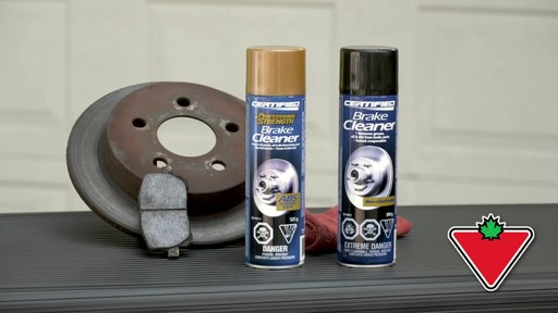 Certified Chlorinated Brake Cleaner - image 1 from the video