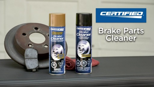 Certified Chlorinated Brake Cleaner - image 10 from the video