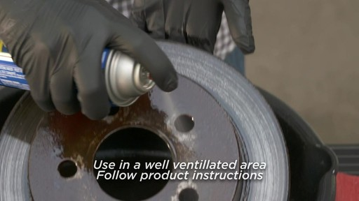 Certified Chlorinated Brake Cleaner - image 5 from the video