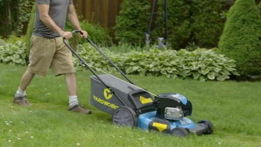 Yardworks Gas Mowers - image 2 from the video