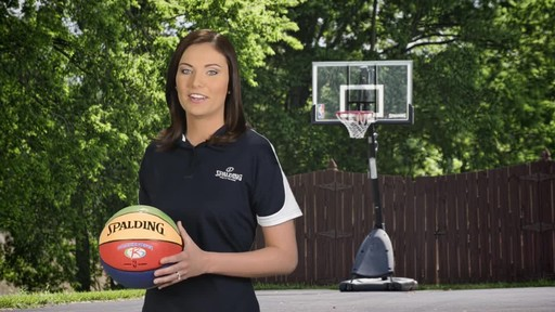 Spalding Multi-Colour Basketball - image 3 from the video