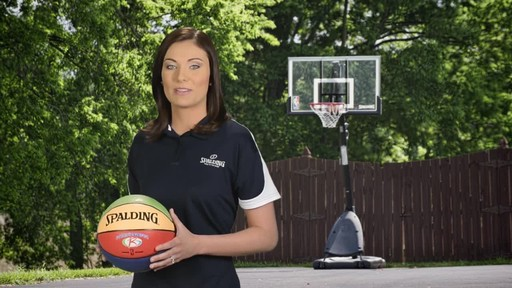 Spalding Multi-Colour Basketball - image 4 from the video