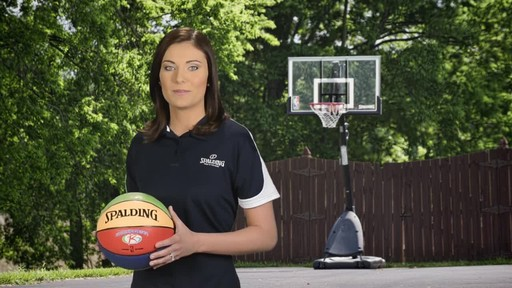 Spalding Multi-Colour Basketball - image 5 from the video
