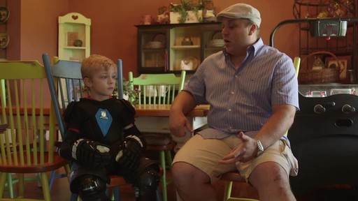 Bauer Prodigy Hockey Gloves - Lee & Brendan's Testimonial - image 10 from the video