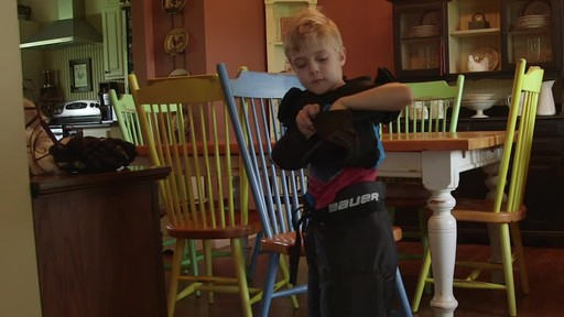 Bauer Prodigy Hockey Gloves - Lee & Brendan's Testimonial - image 5 from the video