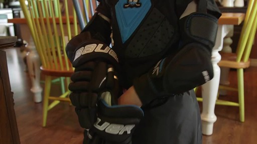 Bauer Prodigy Hockey Gloves - Lee & Brendan's Testimonial - image 6 from the video