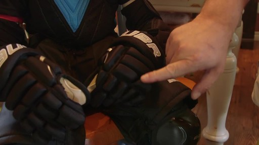 Bauer Prodigy Hockey Gloves - Lee & Brendan's Testimonial - image 8 from the video