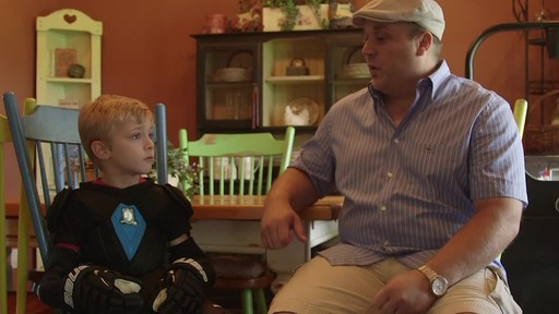 Bauer Prodigy Hockey Gloves - Lee & Brendan's Testimonial - image 9 from the video