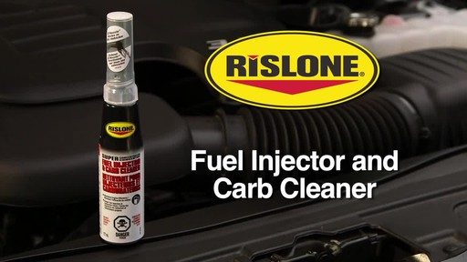 Rislone Fuel Injector and Carb Cleaner - image 1 from the video