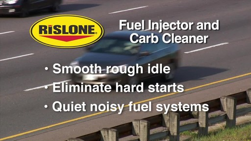 Rislone Fuel Injector and Carb Cleaner - image 8 from the video