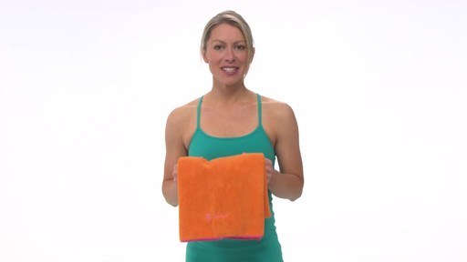 Gaiam Thirsty Yoga Mat Towel - image 1 from the video