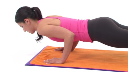 Gaiam Thirsty Yoga Mat Towel - image 7 from the video