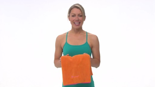Gaiam Thirsty Yoga Mat Towel - image 9 from the video