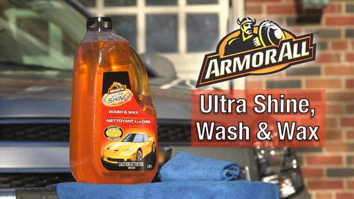 Armor All Ultra Shine Wash & Wax - image 1 from the video