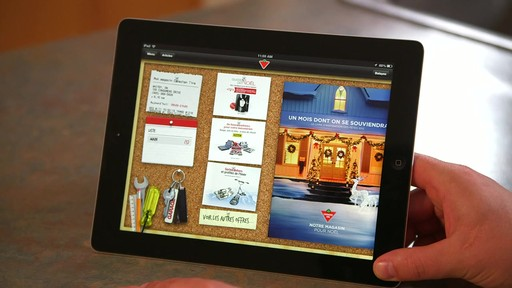 Canadian Tire iPad app: Flyer Preview Feature - image 10 from the video