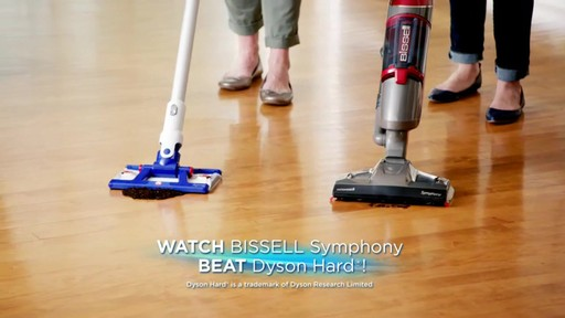 Bissell Symphony Complete™ All in One Vacuum and Steam Mop - image 2 from the video