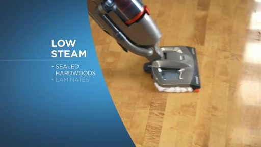 Bissell Symphony Complete™ All in One Vacuum and Steam Mop - image 6 from the video