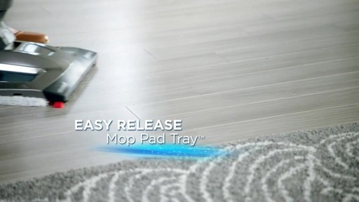 Bissell Symphony Complete™ All in One Vacuum and Steam Mop - image 7 from the video