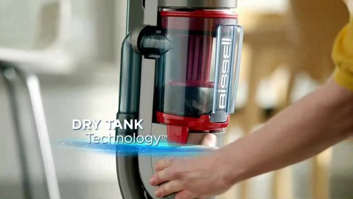 Bissell Symphony Complete™ All in One Vacuum and Steam Mop - image 8 from the video