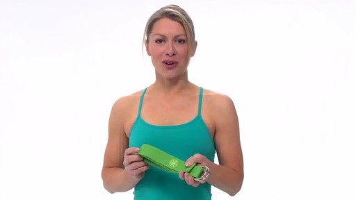 Gaiam Yoga Strap - image 10 from the video