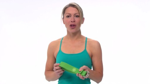 Gaiam Yoga Strap - image 6 from the video