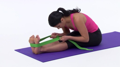 Gaiam Yoga Strap - image 8 from the video