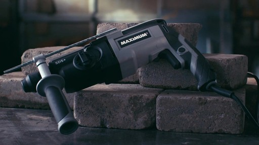 MAXIMUM Rotary Hammer Drill, 5/8-in - image 5 from the video