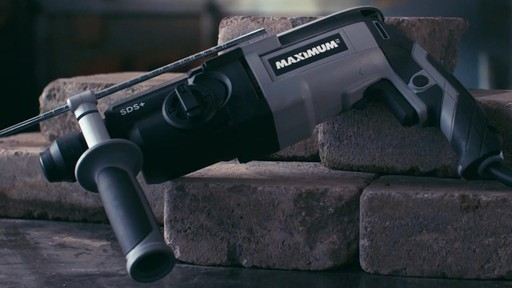 MAXIMUM Rotary Hammer Drill, 5/8-in - image 7 from the video