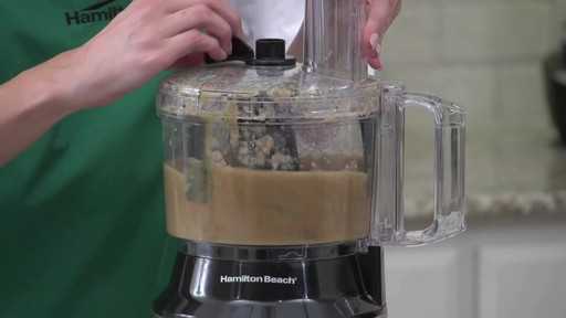 Hamilton Beach 10 Cup Compact Food Processor - image 4 from the video