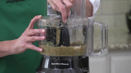 Hamilton Beach 10 Cup Compact Food Processor - image 5 from the video