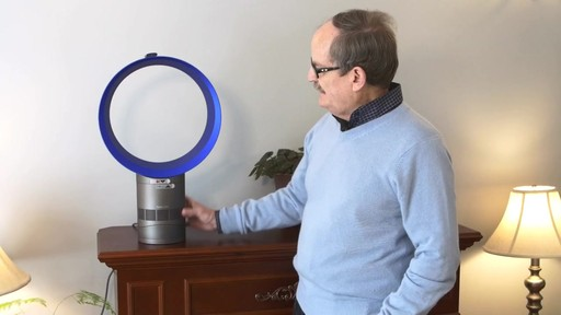 Dyson Cool™ Desk Fan - Jim's Testimonial - image 2 from the video