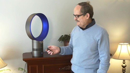 Dyson Cool™ Desk Fan - Jim's Testimonial - image 6 from the video
