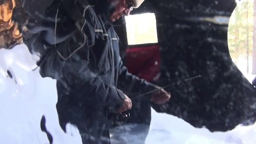 Ugly Stik Ice Fishing Ultra Light - Roger's Testimonial - image 7 from the video