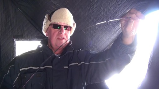 Ugly Stik Ice Fishing Ultra Light - Roger's Testimonial - image 8 from the video