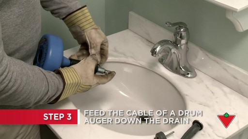 How to Unclog a Drain  - image 4 from the video