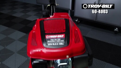 Troy-Bilt 139 cc Front Tine Tiller - image 10 from the video