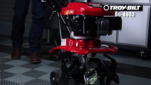 Troy-Bilt 139 cc Front Tine Tiller - image 2 from the video