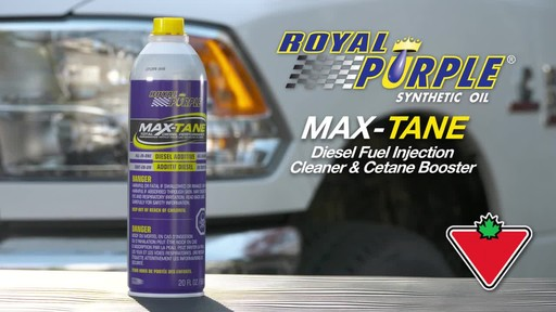 Royal Purple Max-Tane™ Diesel Fuel Injection Cleaner & Cetane Booster - image 1 from the video