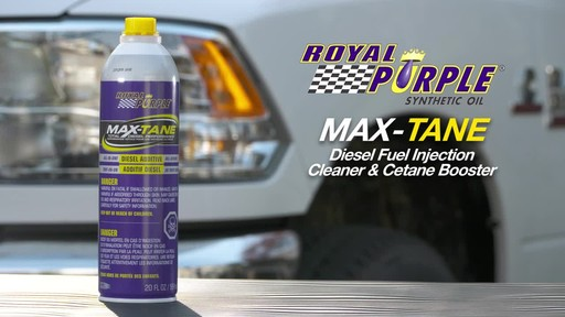 Royal Purple Max-Tane™ Diesel Fuel Injection Cleaner & Cetane Booster - image 10 from the video
