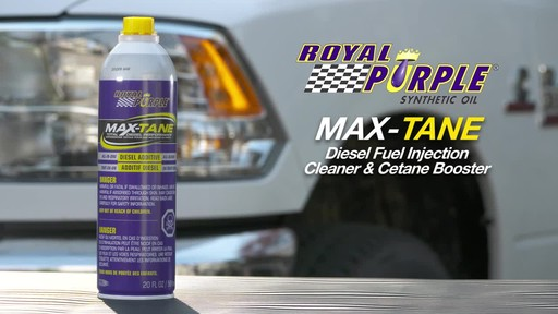 Royal Purple Max-Tane™ Diesel Fuel Injection Cleaner & Cetane Booster - image 9 from the video
